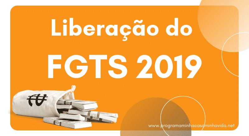 Liberação do FGTS 2019