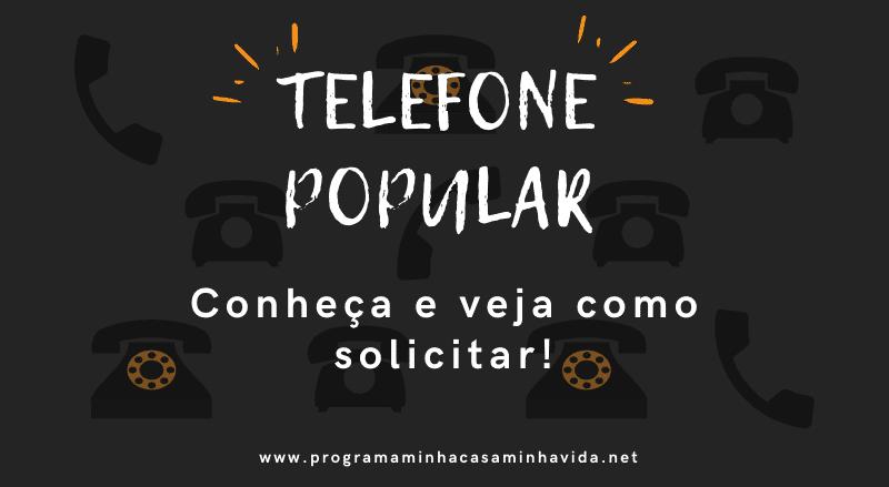 Telefone Popular